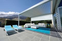 Poolhouse Mint 1 LED strip structuur