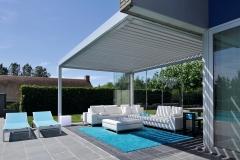 Poolhouse Mint 3 LED strip structuur